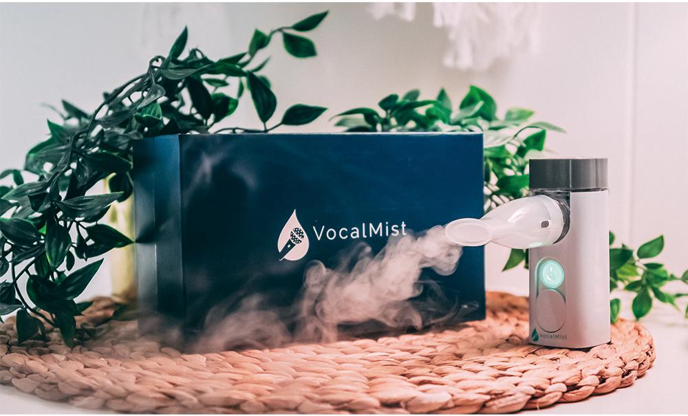 vocal mist nebulizer ボーカリスト 喉のケア