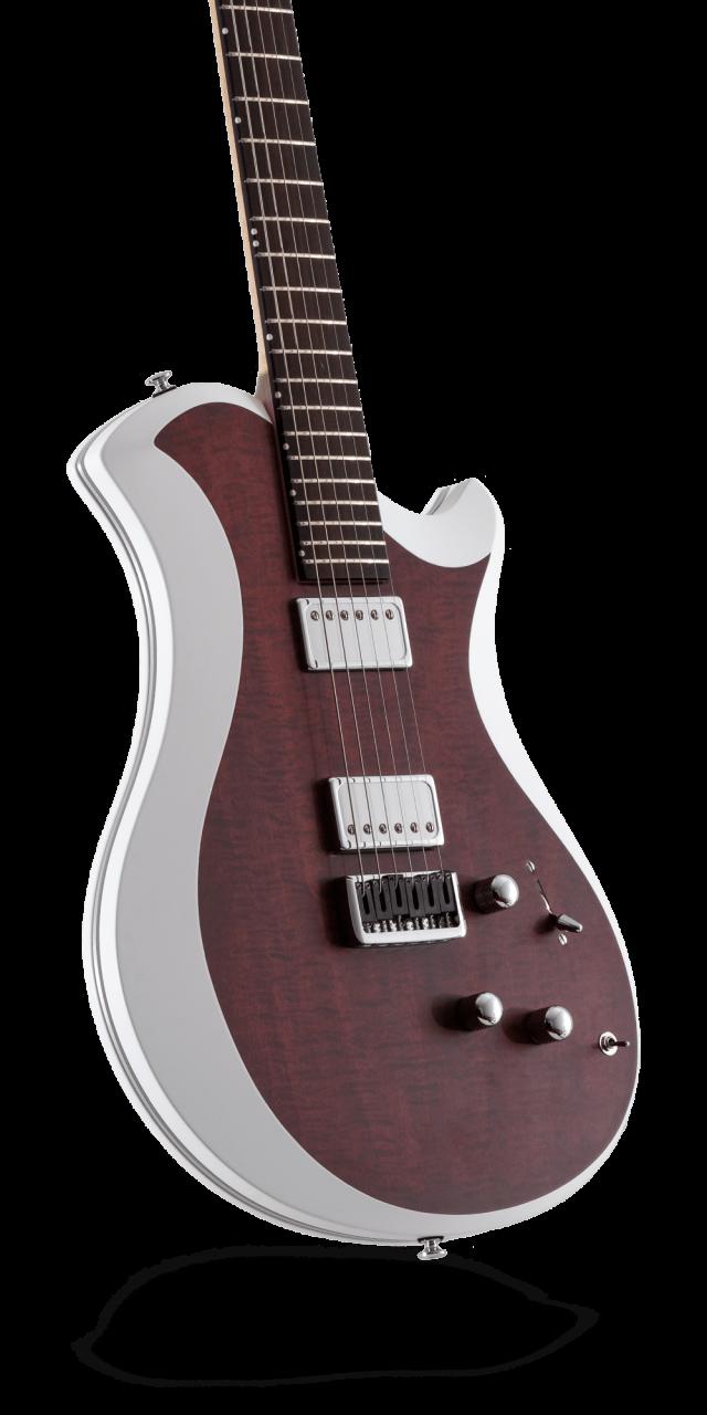レリッシュ・ギター relish guitars bordeaux stain curly maple mary one #009
