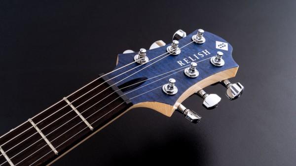 レリッシュ・ギター ヘッド relish guitars flamed marine mary head