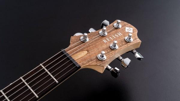 レリッシュ・ギター ヘッド relish guitars walnut mary head