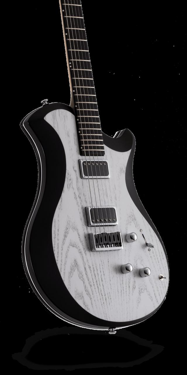 レリッシュ・ギター relish guitars white black ash shady mary one #011