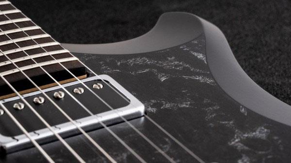 レリッシュ・ギター ピックアップ relish guitars black white burl ash shady mary one pickup #003