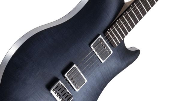 レリッシュ・ギター ボディ relish guitars flamed marine jane body up