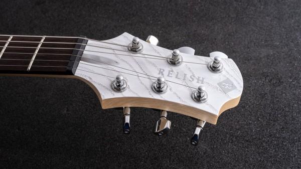 レリッシュ・ギター ヘッド relish guitars white burl ash snow mary one head #005