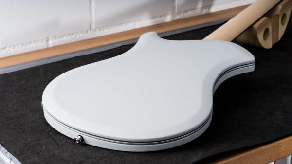 レリッシュ・ギター ボディ裏 relish guitars black white ash snow mary one body back #010