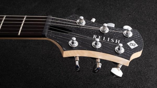 レリッシュ・ギター ヘッド relish guitars black white ash snow mary one head #010