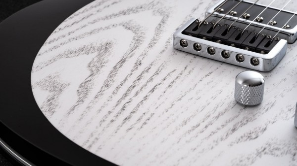 レリッシュ・ギター ブリッジ relish guitars white black ash shady mary one bridge #011
