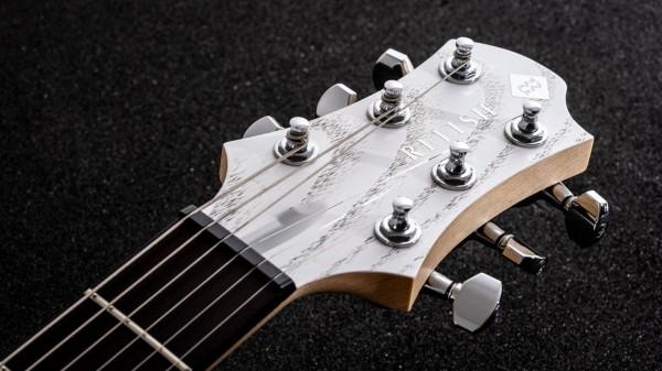 レリッシュ・ギター ヘッド relish guitars white black ash shady mary one head #011