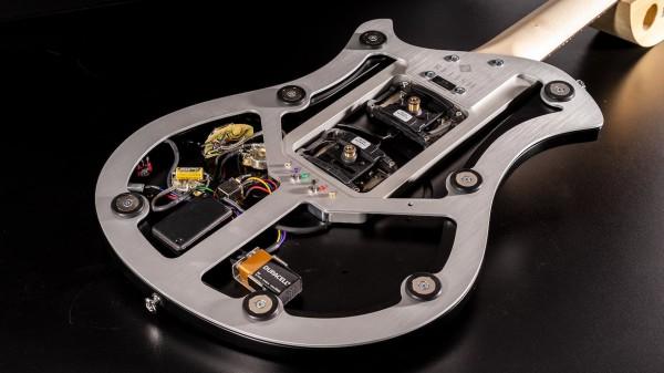 レリッシュ・ギター ボディ オープン relish guitars white black ash shady mary one body open back #011