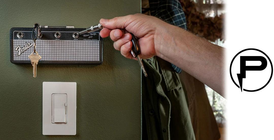 PLUGINZ  プラグインツ 正規輸入代理店 Fender Mini Twin Amp Marshall JCM800 Jack Rack アンプ型キーハンガー キーホルダー