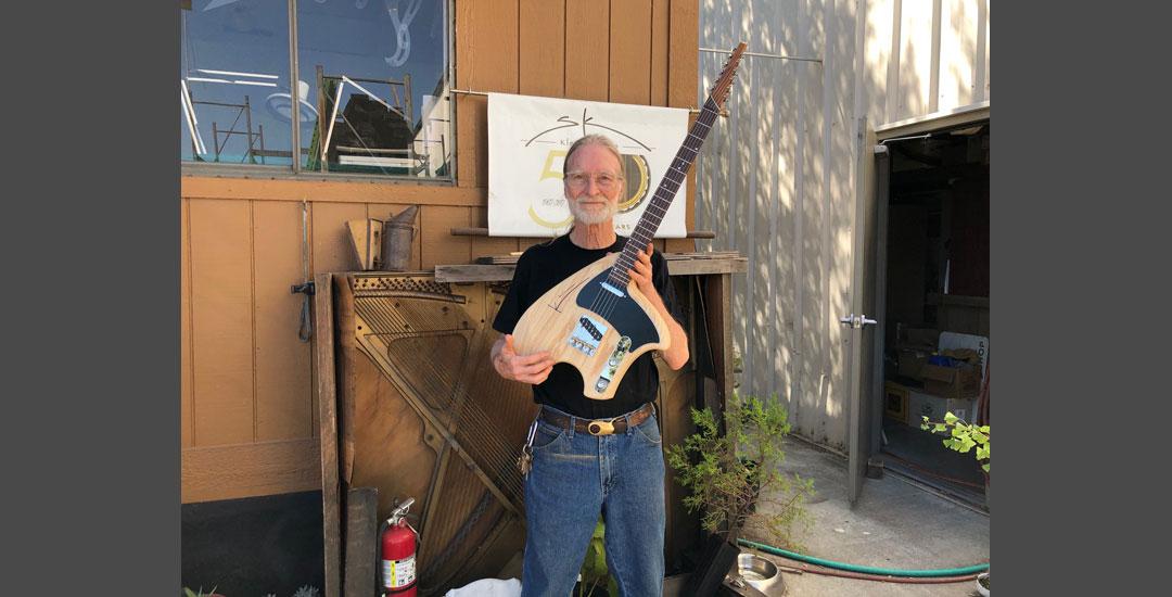 Steve Klein with sTele swamp ash クライン・ギター スティーブ・クライン