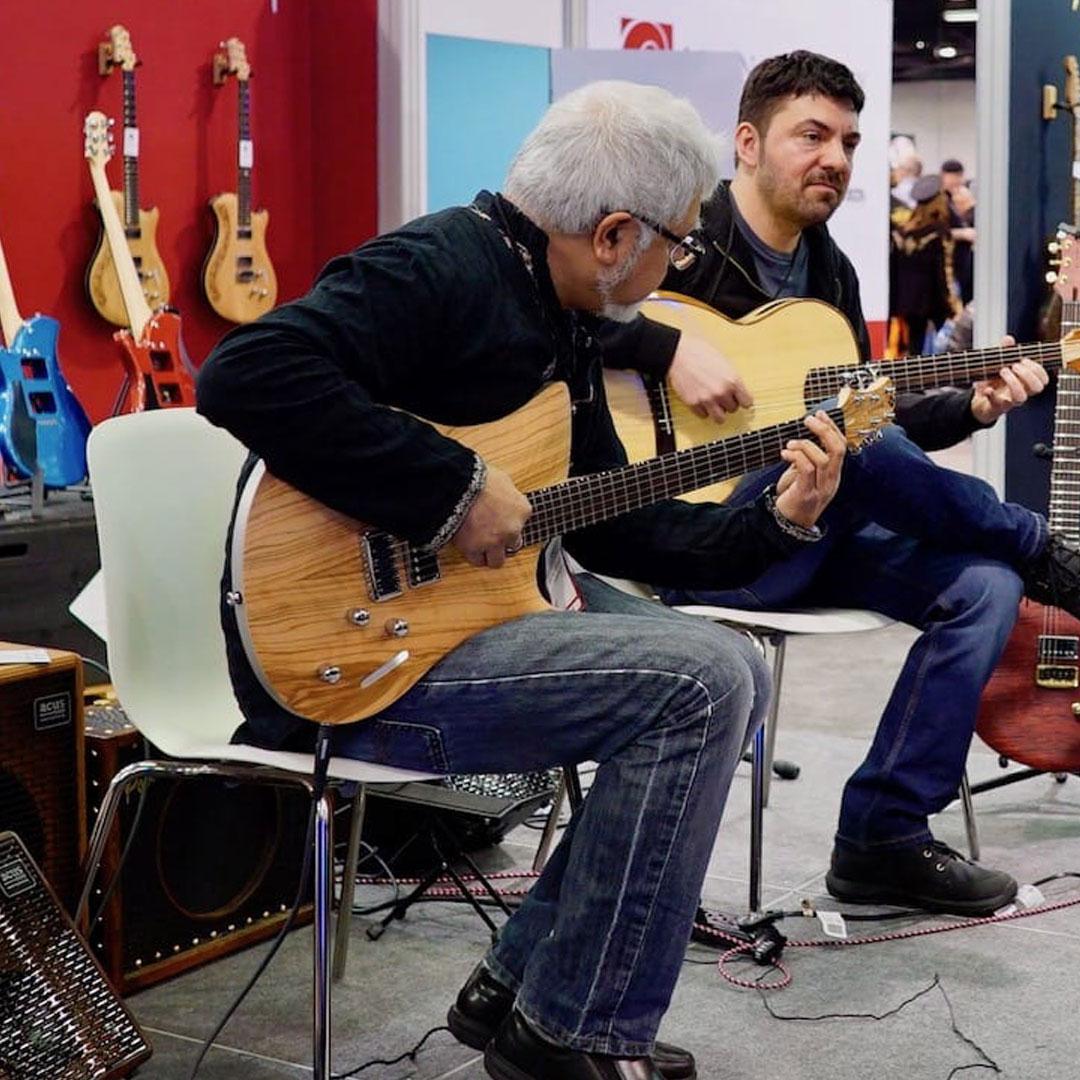 fareed haque relish guitars レリッシュギター