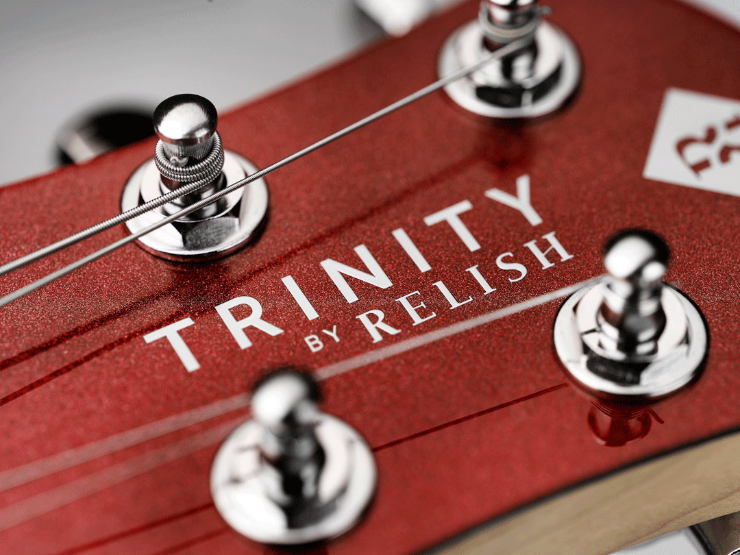 TRINITY BY RELISH Metallic Red ヘッド ペグ