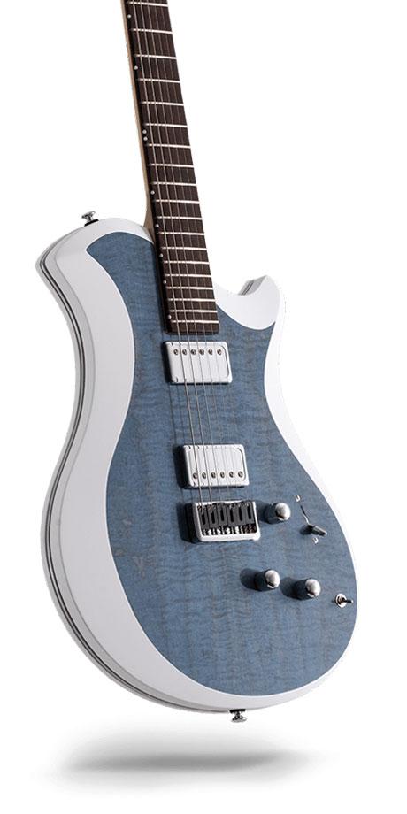レリッシュ・ギター relish guitars blue stain curly maple mary one #008
