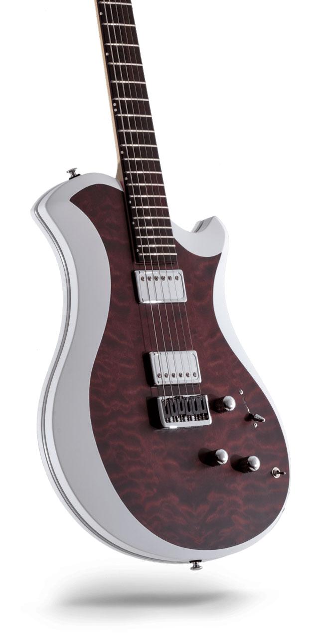 レリッシュ・ギター relish guitars bordeaux stain quilted maple mary one #015