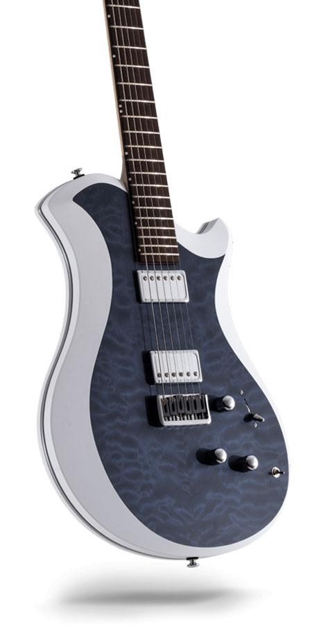 レリッシュ・ギター relish guitars marine stain quilted maple mary one #014