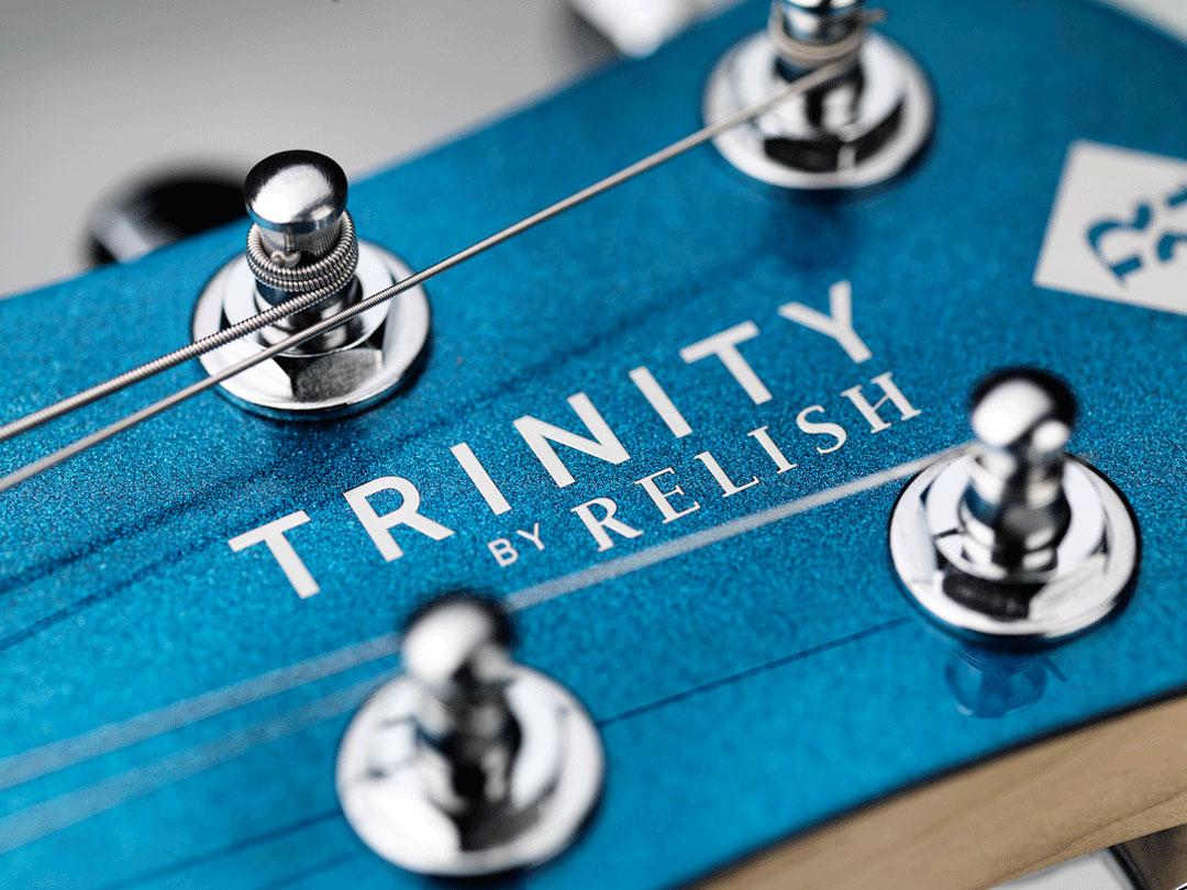 TRINITY BY RELISH Metallic Blue ヘッド ペグ