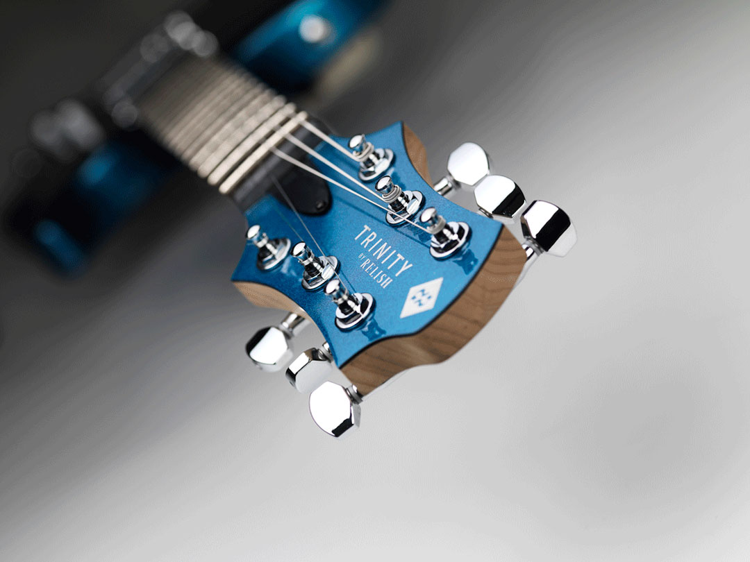 TRINITY BY RELISH Metallic Blue ヘッド