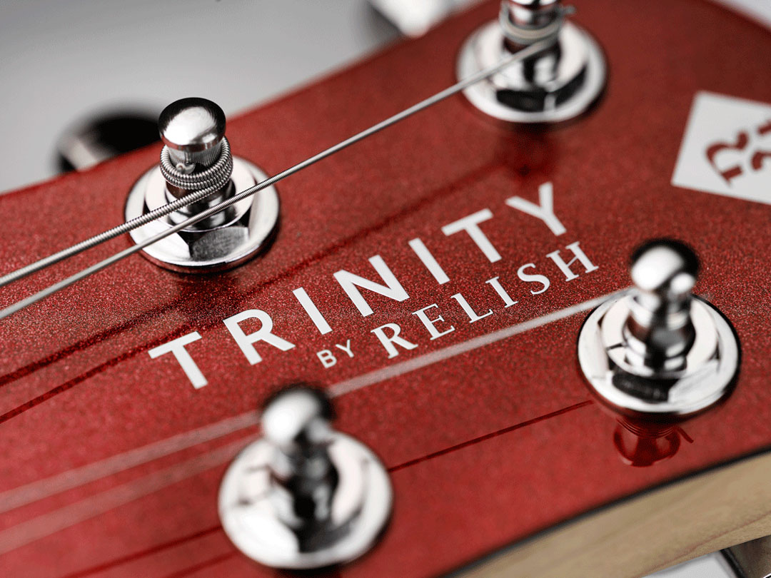 TRINITY BY RELISH Metallic Red ヘッド ペグ