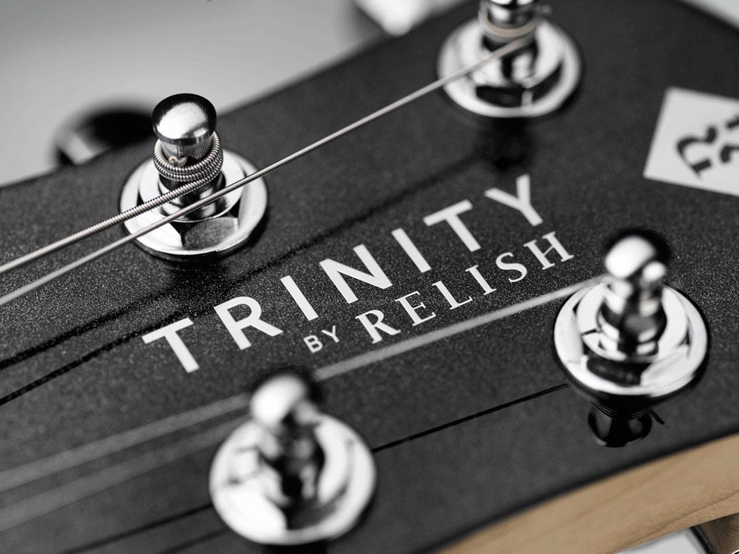 TRINITY BY RELISH Metallic Black ヘッド ペグ