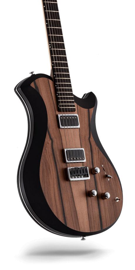 レリッシュ・ギター relish guitars tineo black mary one #017