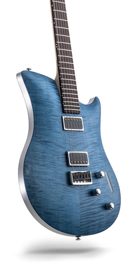 レリッシュ・ギター relish guitars flamed blue jane