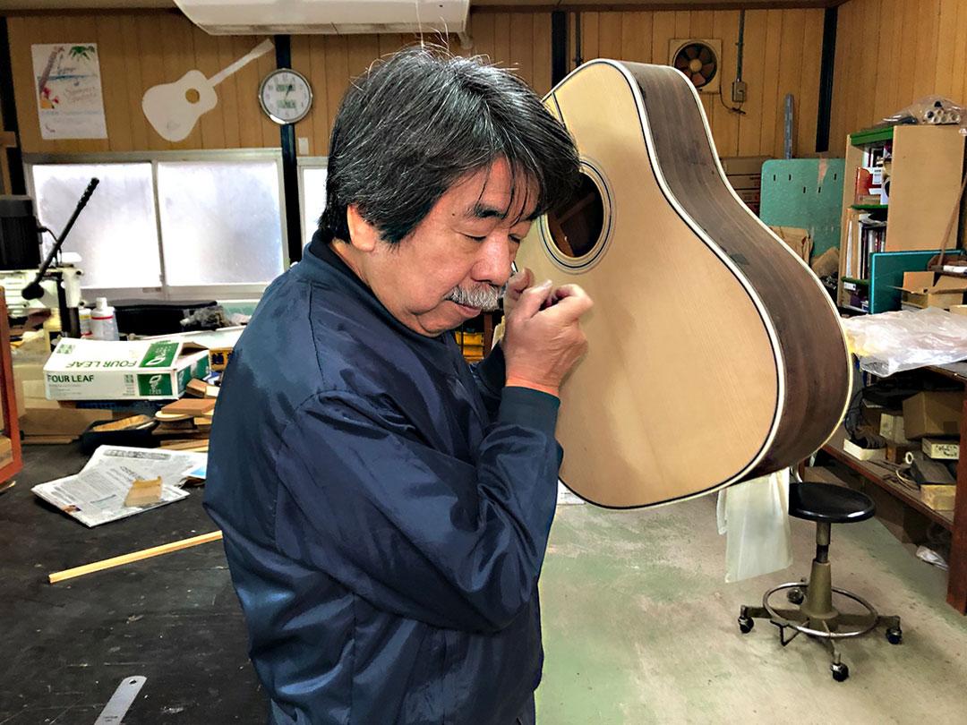 塩﨑雅亮 エム・シオザキ弦楽器工房 SEAGULL by M.Shiozaki